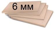 Березовая фанера, ФСФ, сорт 2/4, 1,22 x 2,44, 6мм