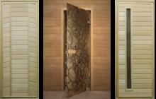 Двери для бани и сауны