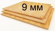 Фанера хвойная ФСФ сорт 2/3, 1,22 x 2,44, 9 мм (Братск)