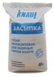 Керамзит 0 - 5 (0,04м3, 24кг)   КНАУФ-ЗАСЫПКА