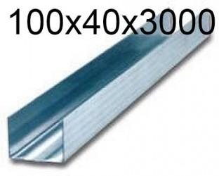 Профиль направляющий 100x40x3000