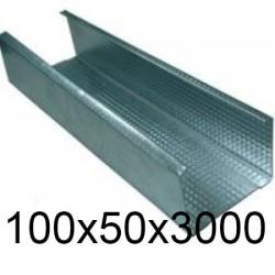 Профиль стоечный 100x50x3000